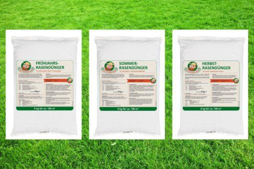 Rasendünger-Jahrespaket