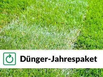 Rudis Rasendünger Jahrespaket